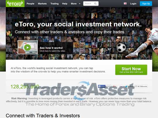 eToro Screenshot 1
