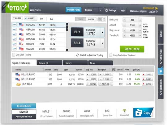 eToro Screenshot 2