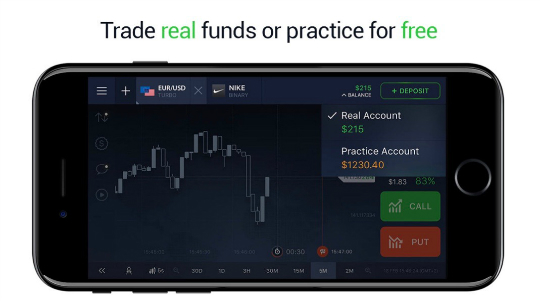 IQ Option Screenshot 3
