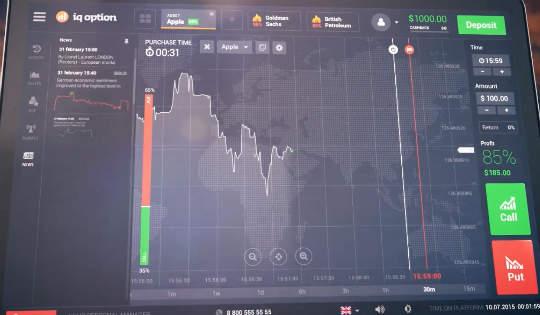 IQ Option Screenshot 2