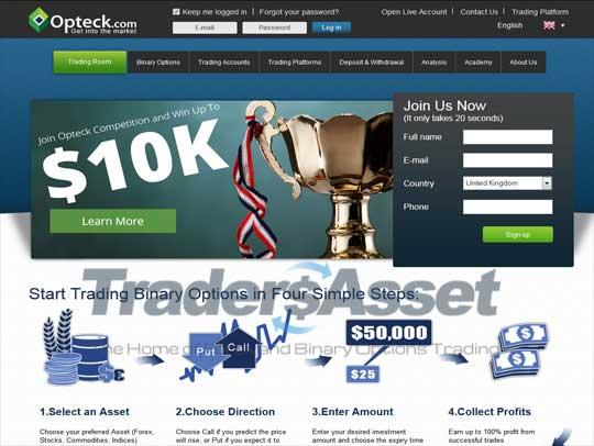 Binary options broker minimum deposit required