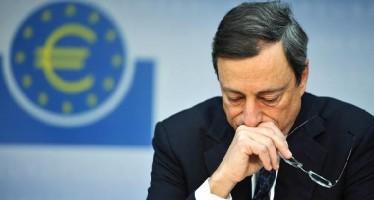 Europe Falls Into Deflationary Spiral, Draghi Under Pressure