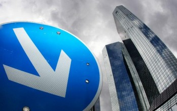 Bearish Price Action for Deutsche Bank, Call Options Advised