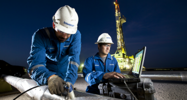 Make Money from Oil with Schlumberger