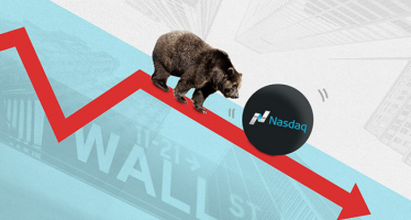 Nasdaq Bearish as Large Tech Stocks Slide