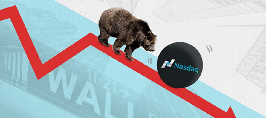 Nasdaq Bearish as Large Tech Stocks Slide