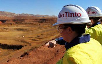 Rio Tinto to Decline on Fall in Iron Ore Prices