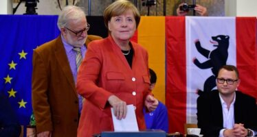 Euro Down on Right Wing Party's Gain in German Election