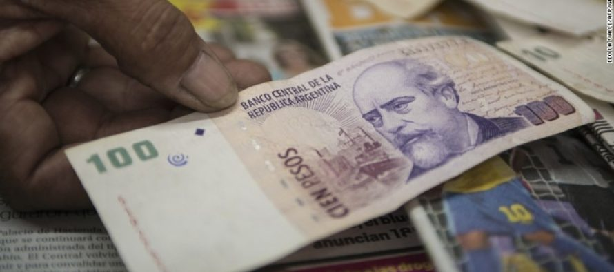 Argentina Heading For Recession, Peso Hits New Low