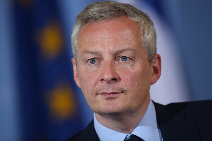 French Economy Minister Bruno Le Maire - Photo - 27th September 2018