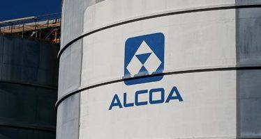 Dow Jones Falls 200 Points, Alcoa Shines