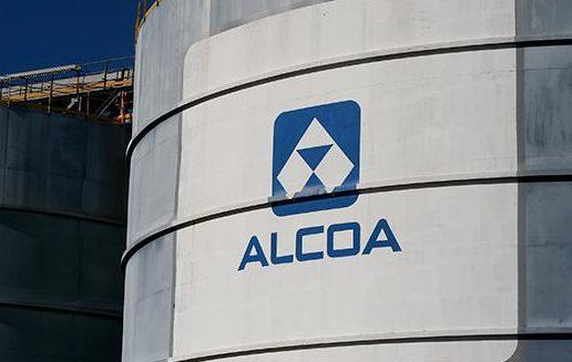 Alcoa logo, photo, 5th October 2018