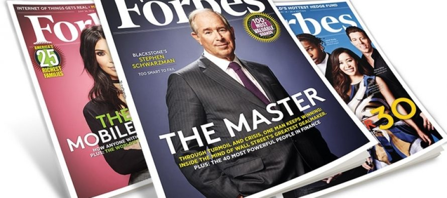 Forbes Eyes Blockchain For Content Distribution