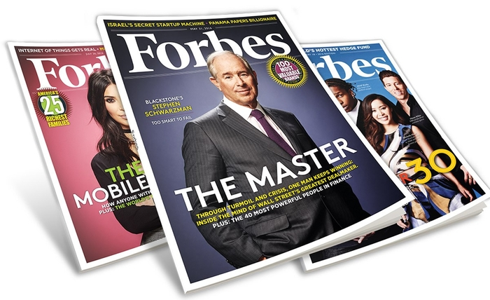 Forbes magazines - photo - 11th October 2018