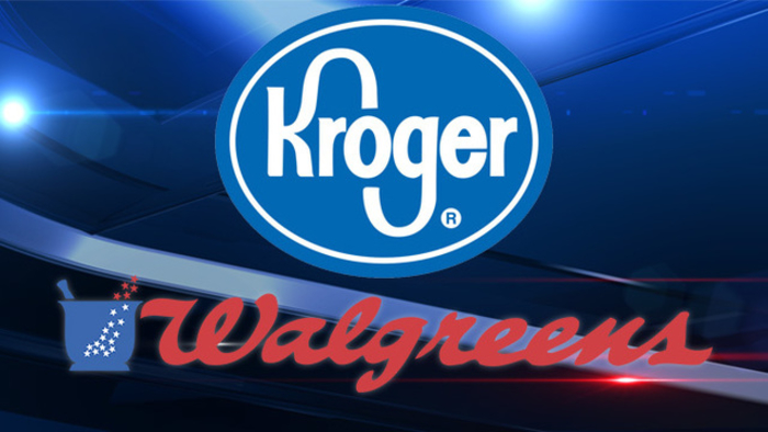 Kroger and Walgreen Logo's - Graphic - 3rd October 2018
