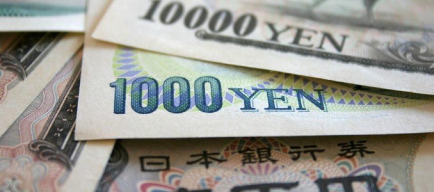 Yen strengthens on Unexpected Boost In Consumer Spending