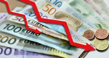 Swedish Krona Plunges On Weak Inflation Data