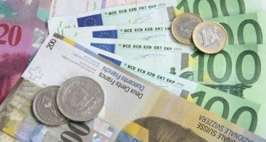 Swiss Franc Slightly Up On Improved Economic Sentiment