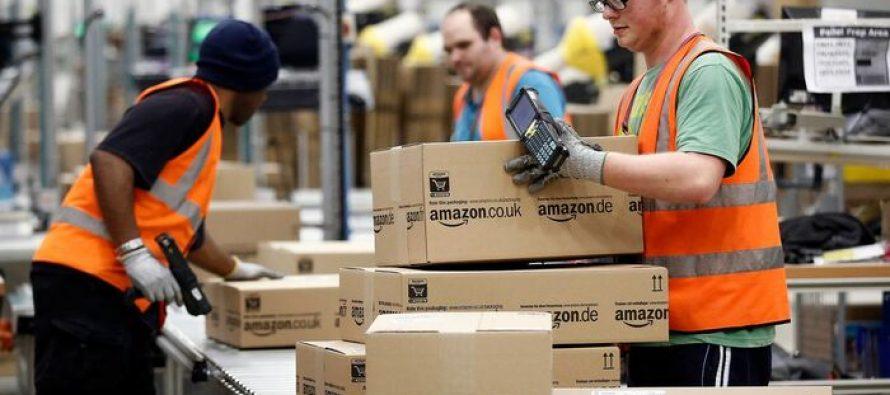 Amazon Plans Spending $700mln. To Train 100,000 Employees