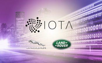 Jaguar Employs IOTA in PoC Demo for Tracking Car Energy