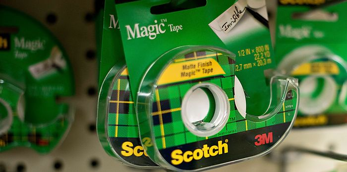 3M Scotch tape in store - photo - 25th Oct 2019