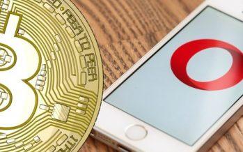 Opera Browser Facilitates Direct Bitcoin Payments