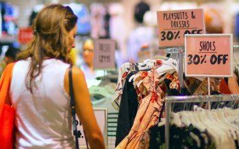 Aussie Down as Retail Sales Halves in September