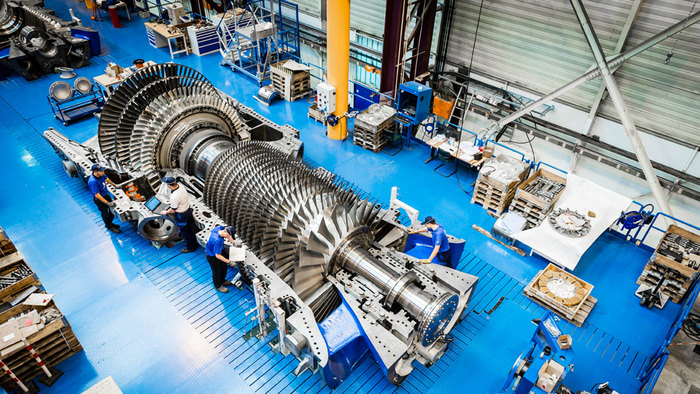 An inside view of a General Electric plant - photo - 13th Dec 2019