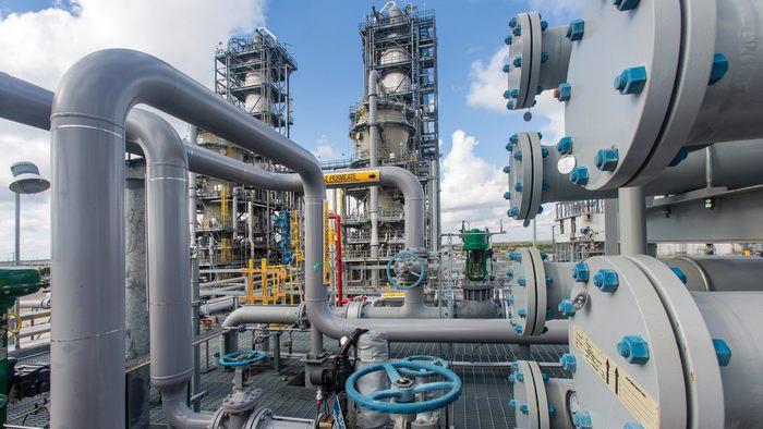 Exxon Mobil chemical plant - photo - 8th Jan 2020