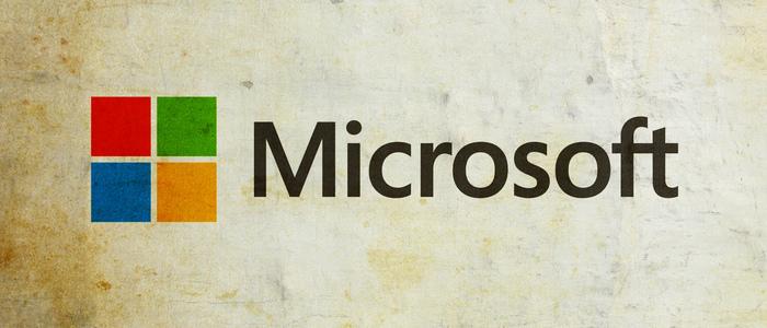Microsoft logo - graphic - 28th Feb 2020