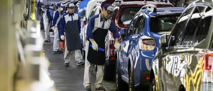 Automobile manufacturer in Japan - - photo - 4th Feb 2020