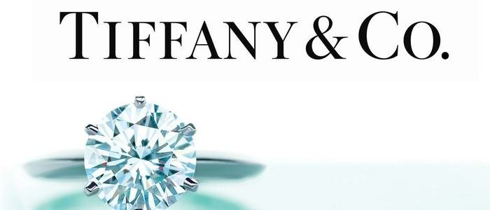 Tiffany & Co. logo with diamond ring - 5th June 2020