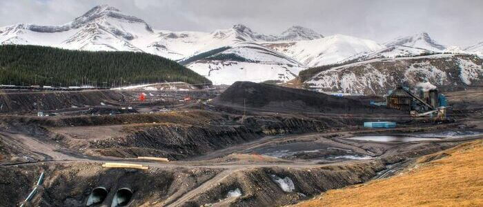 Canadian coal mine
