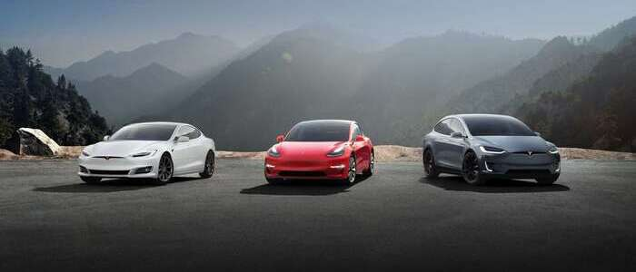 Tesla electric cars - photo - 3rd July 2020
